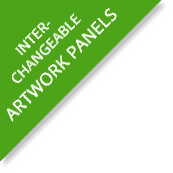 Interchangeable Artwork Panels
