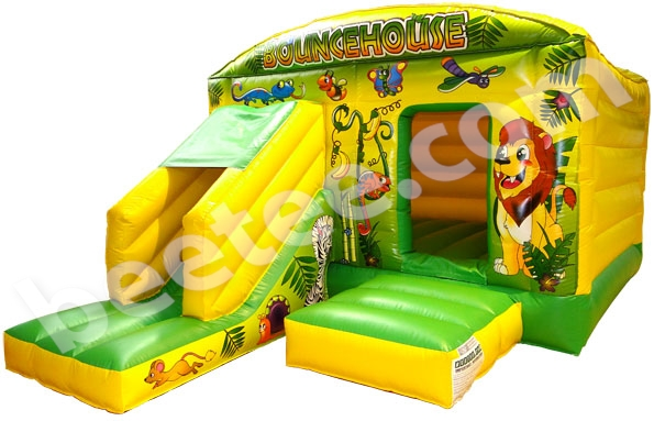 bouncy castle combi