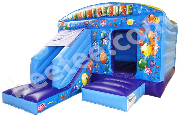 front slide combi bouncy castle
