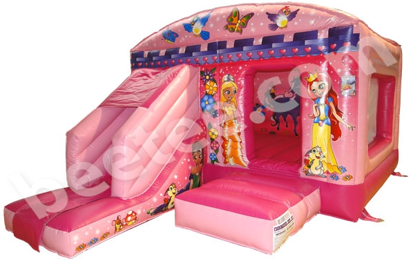 front slide bouncy castle