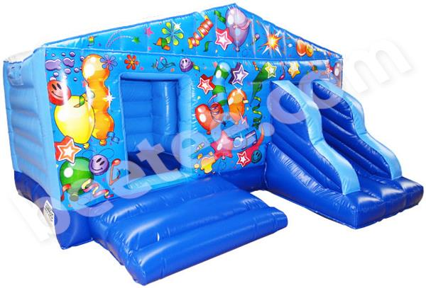 toddler bouncy castle with slide