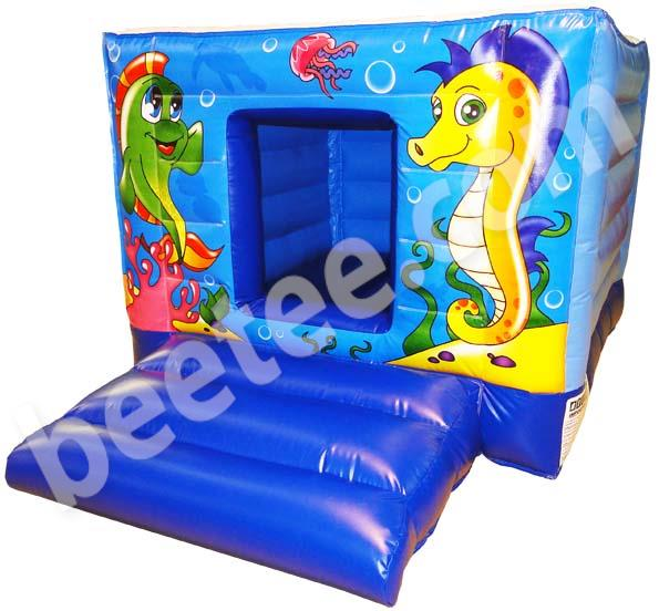 tots bouncy castle with ballpond