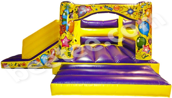 indoor bouncy castle with slide