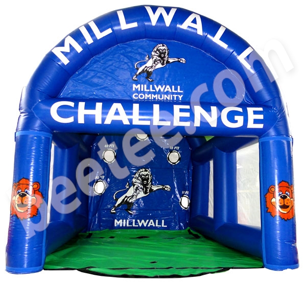 millwall inflatable soccer game