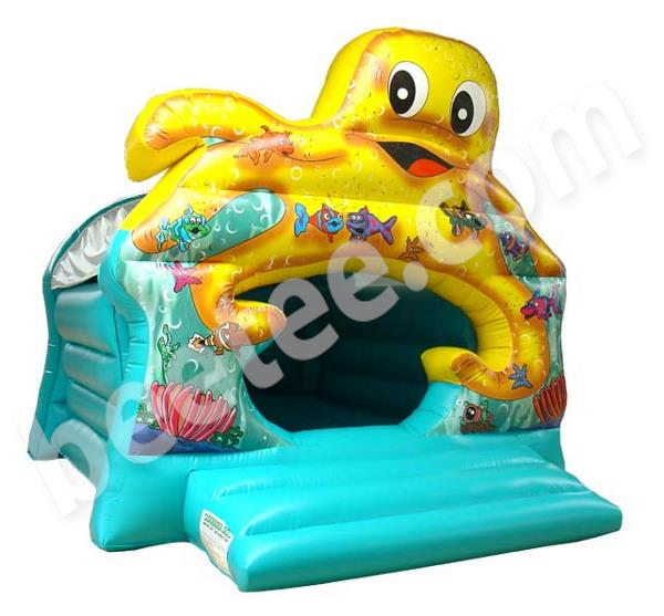 octopuss bouncy castle