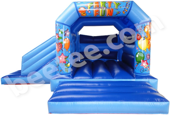Velcro Bouncy Castle with Slide