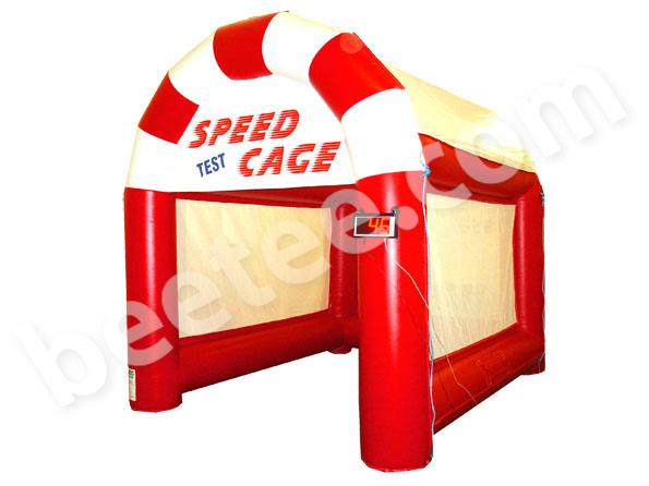speed radar test inflatable