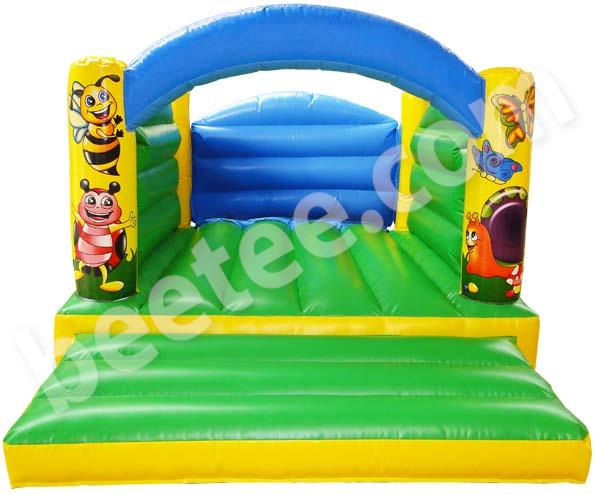 small commercial bouncy castle