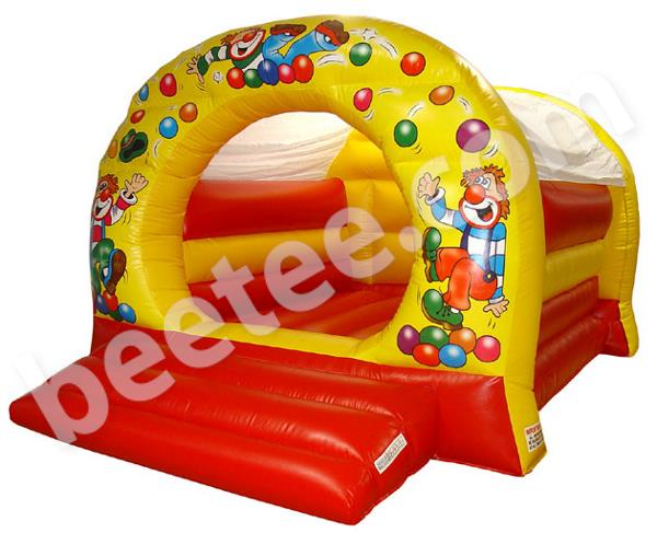 bouncy castle with ballpond