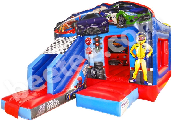 racing car inflatable