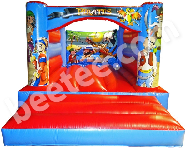 low height bouncy castle