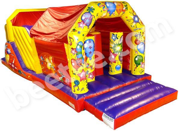 celebration obstacle course