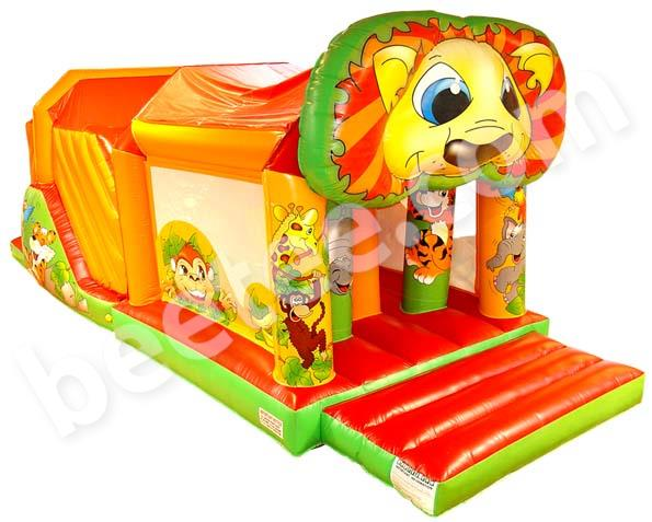 garden inflatable obstacle course