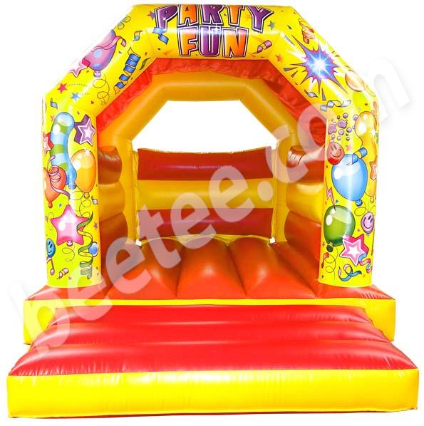 back garden bouncy castle
